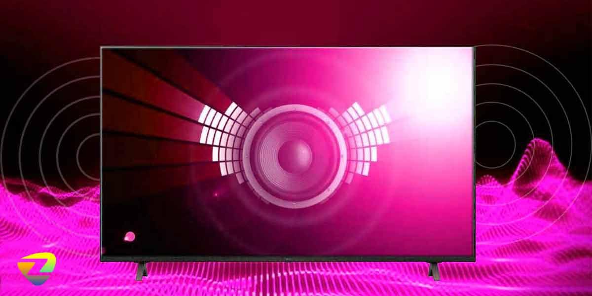 کیفیت صدای تلویزیون ال جی UP8100