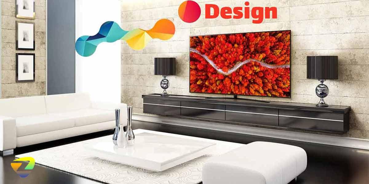 طراحی تلویزیون-UP8000