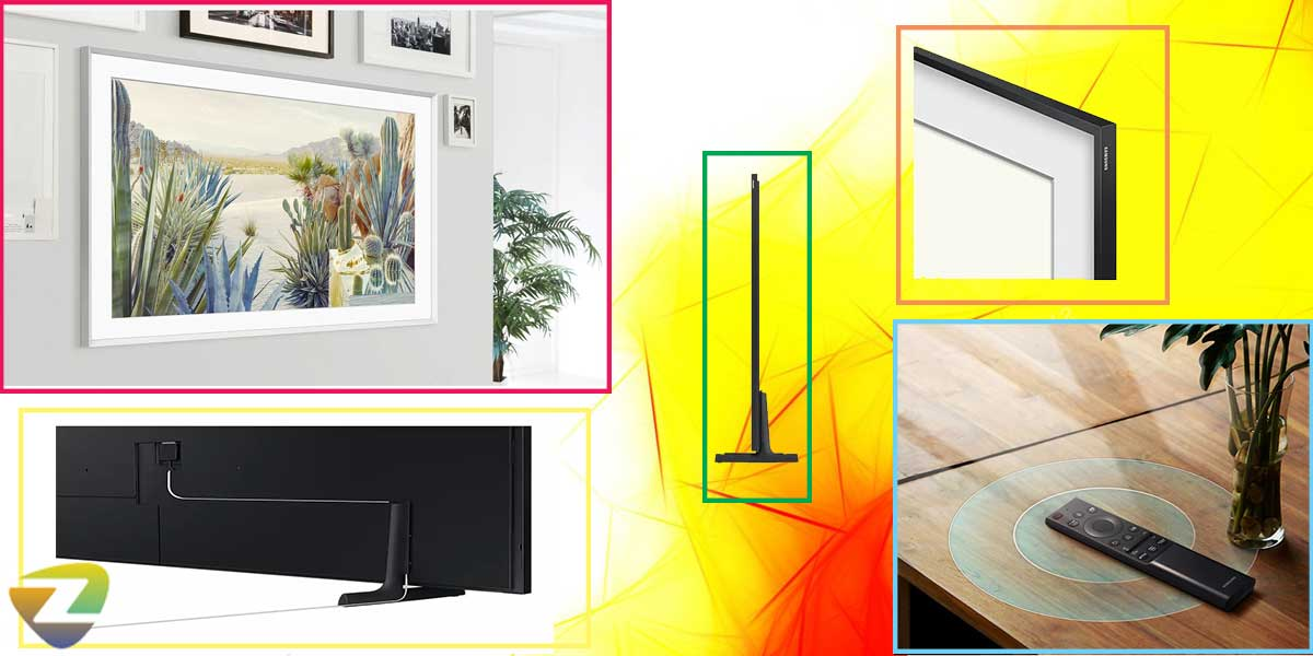طراحی فریم تلویزیون سامسونگ LS03A