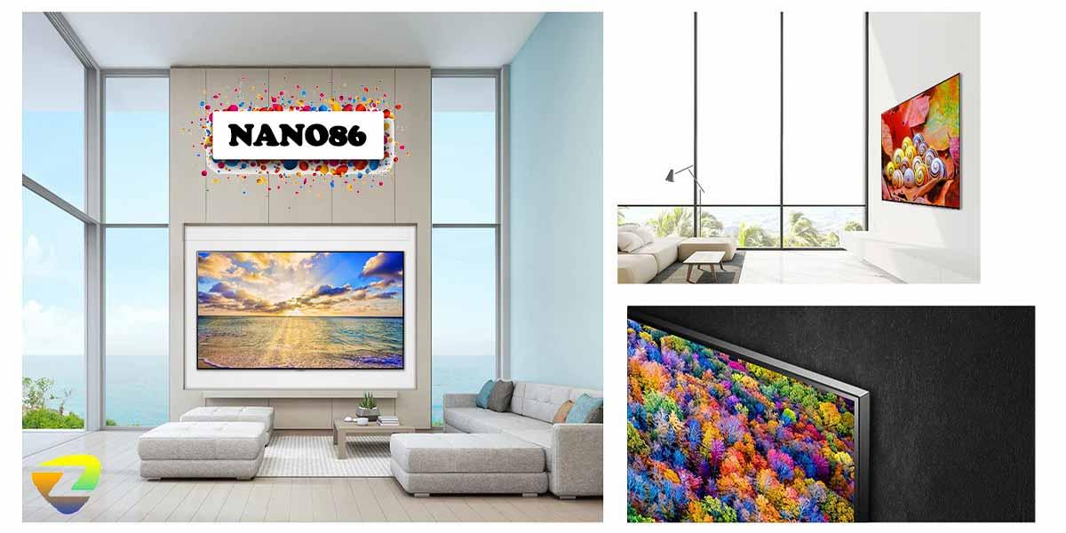 طراحی تلویزیون nano86