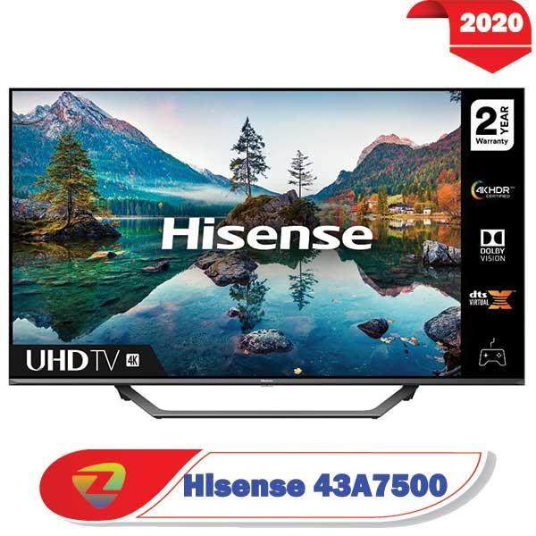 تلویزیون هایسنس 43A7500 در سایز 43 اینچ A7500F مدل 2020