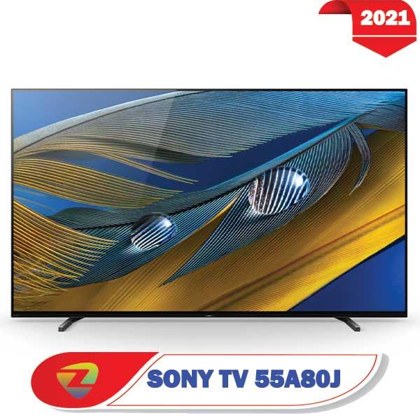 تلویزیون سونی 55A80J اولد سایز 55 اینچ مدل A8J 2021