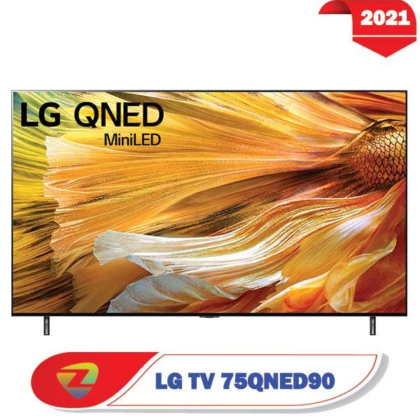 تلویزیون ال جی 75QNED90 مدل 2021 سایز 75 اینچ QNED90