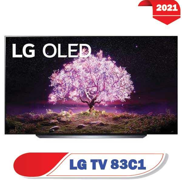 تلویزیون ال جی 83C1 اولد مدل 2021 سایز 83 اینچ C1