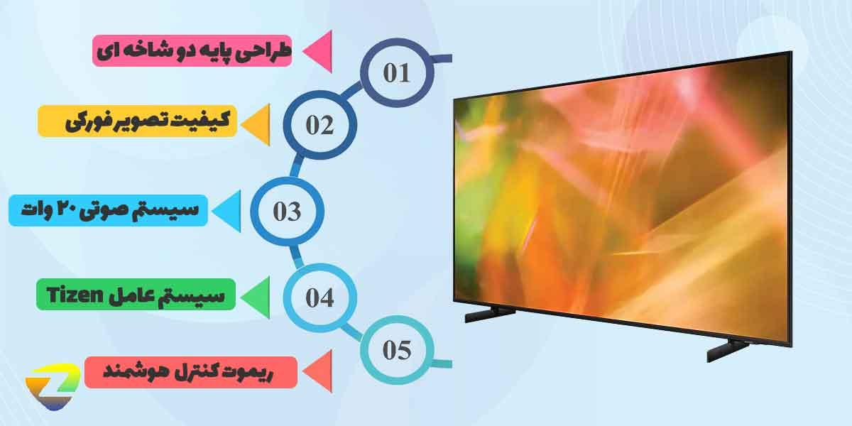 طراحی تلویزیون_AU8000