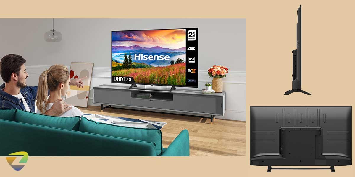 طراحی تلویزیون هایسنس A7300F
