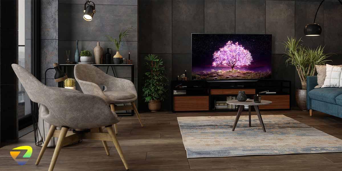 بررسی تلویزیون_LG OLED C1