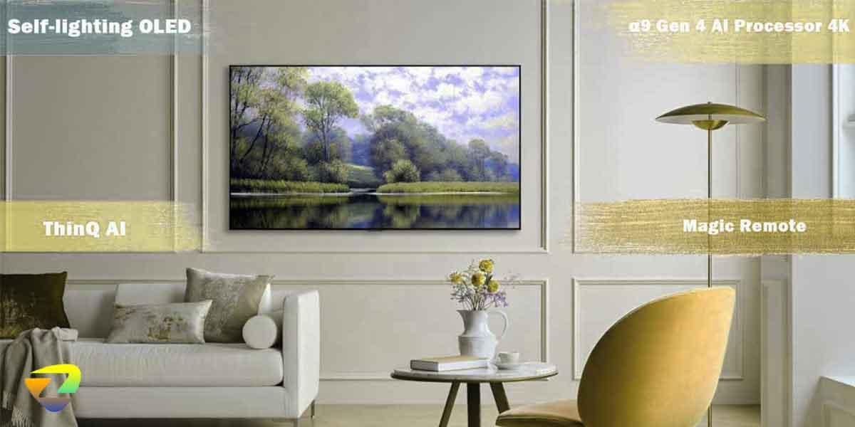 طراحی تلویزیون_LG OLED C1