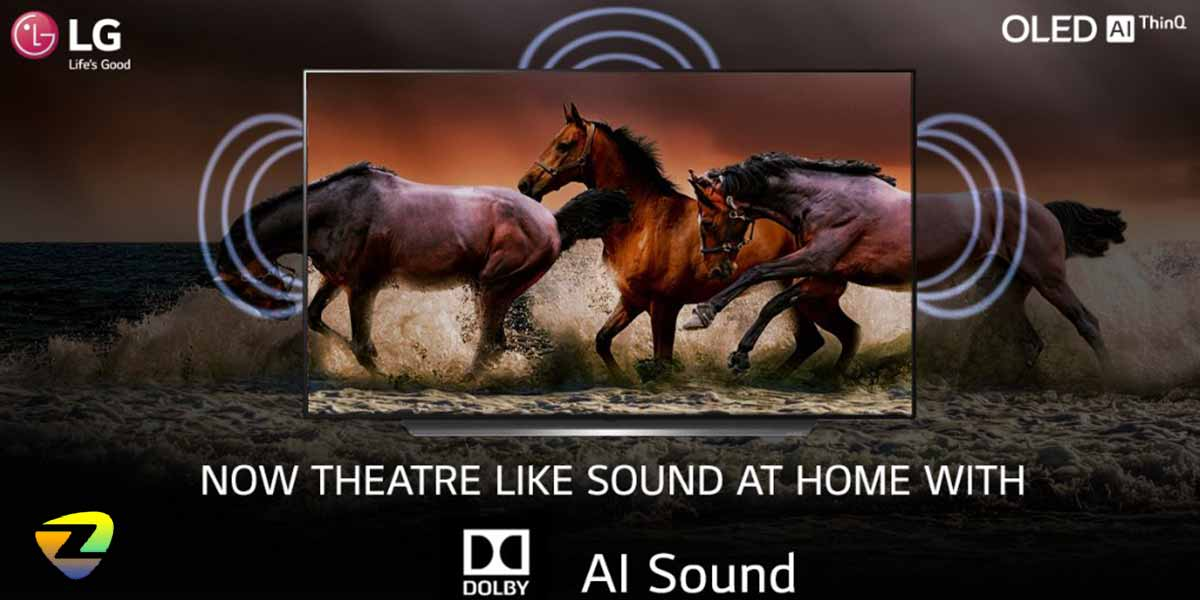 سیستم صوتی تلویزیون ال جی_LG OLED C1