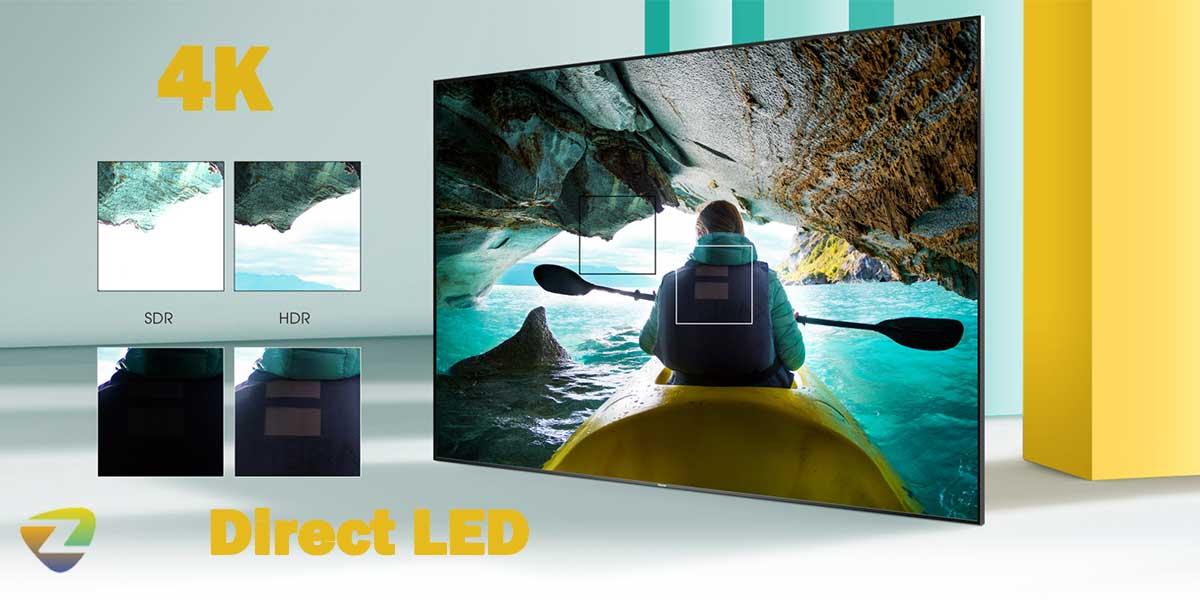 کیفیت تصویر تلویزیون هایسنس A7300F