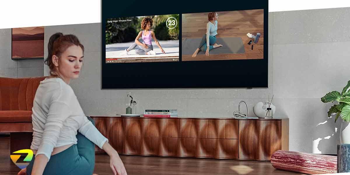 طراحی تلویزیون سامسونگ_Q80A