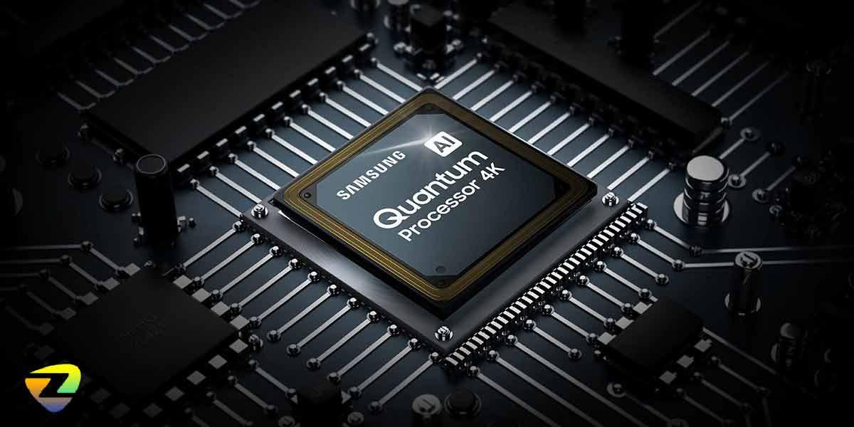 پردازنده کوانتومی تلویزیون سامسونگ_Q80A