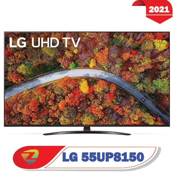 تلویزیون ال جی 55UP8150 مدل 2021 سایز 55 اینچ UP8150