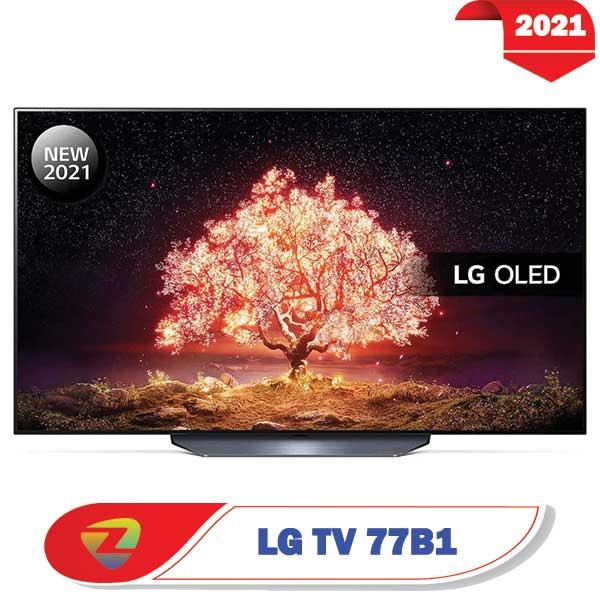 تلویزیون ال جی 77B1 اولد مدل 2021 سایز 77 اینچ B1