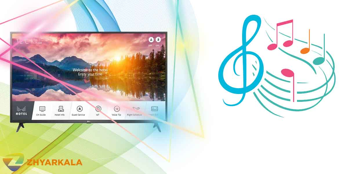 کیفیت صدای تلویزیون ال جی US660H