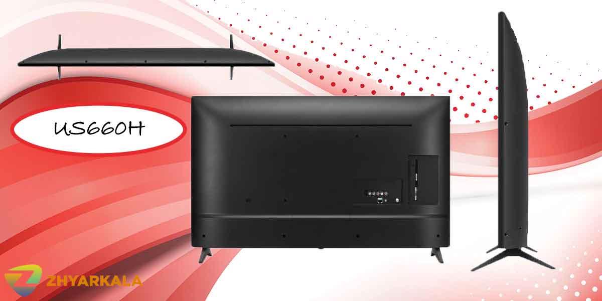 طراحی تلویزیون ال جی US660H
