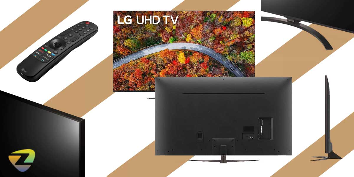 طراحی تلویزیون ال جی UP8150