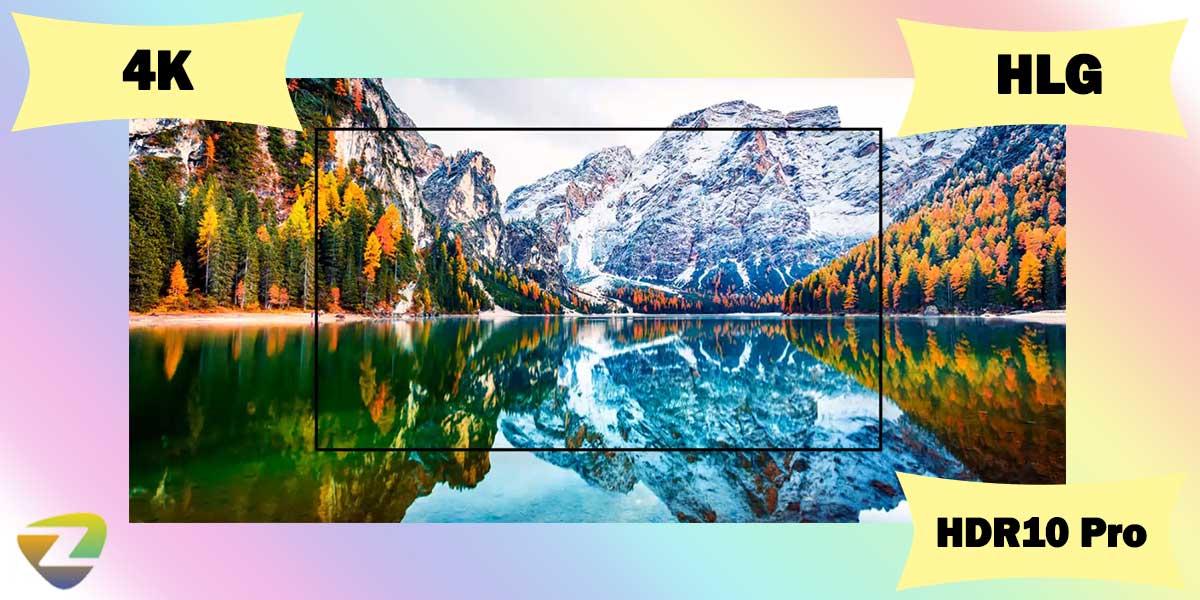 کیفیت تصویر تلویزیون ال جی UP8150