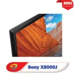 ضخامت تلویزیون سونی X8000J