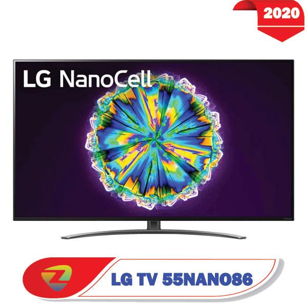 تلویزیون ال جی 55NANO86 سایز 55 اینچ مدل 2020