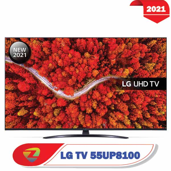 تلویزیون ال جی 55UP8100 – مدل 55 اینچ UP8100