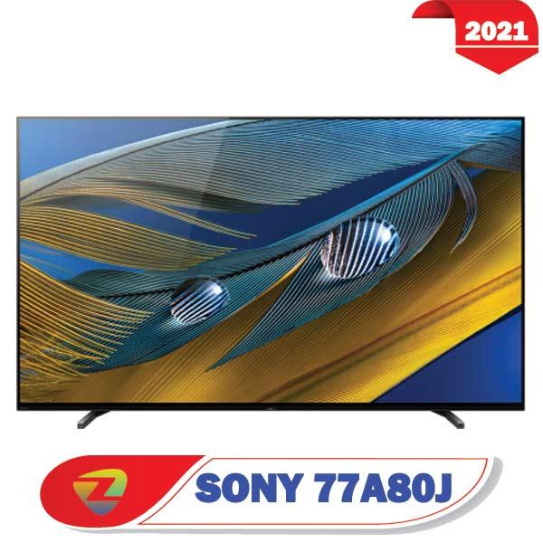 تلویزیون سونی 77A80J اولد سایز 77 اینچ مدل A8J 2021