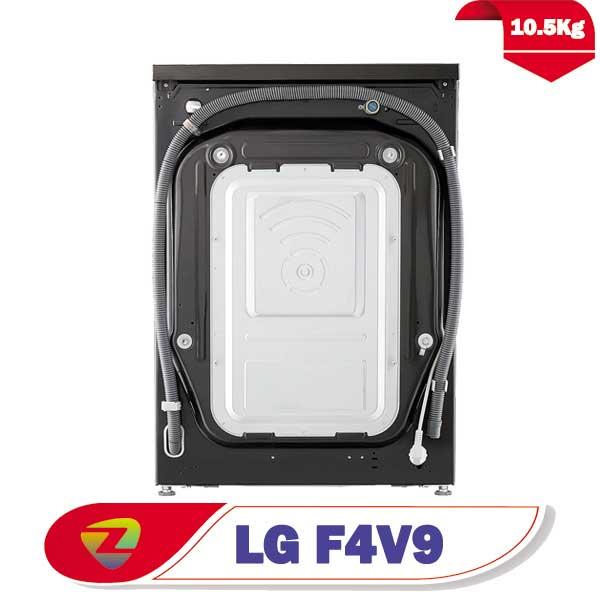ماشین لباسشویی ال جی V9 ظرفیت 10.5 کیلو F4V9RCP2E