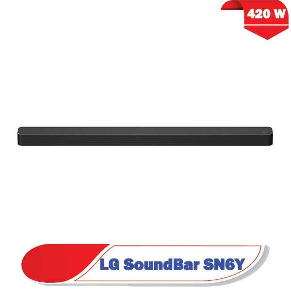 ساندبار ال جیSN6Y سیستم صوتی SN6Y توان 420 وات
