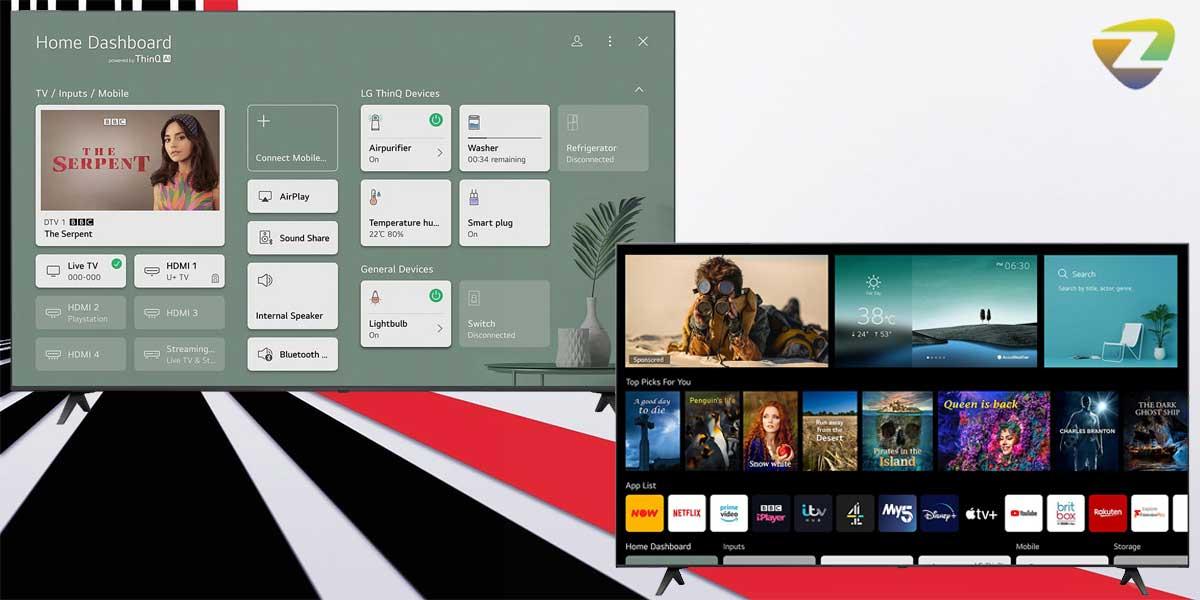 تلویزیون هوشمند ال جی UP7750