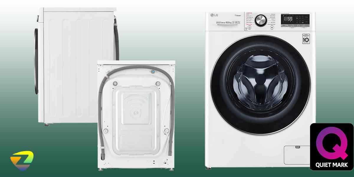 طراحی ماشین لباسشویی ال جی 4V7
