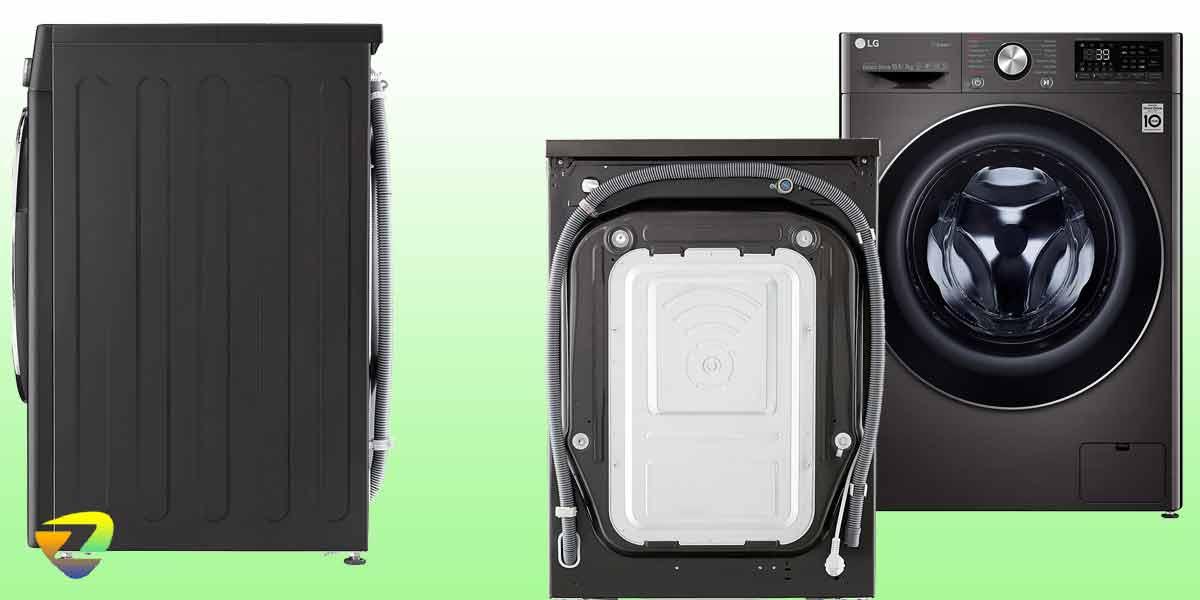 طراحی ماشین لباسشویی ال جی V9