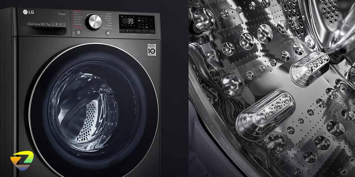 مخزن ماشین لباسشویی ال جی V9