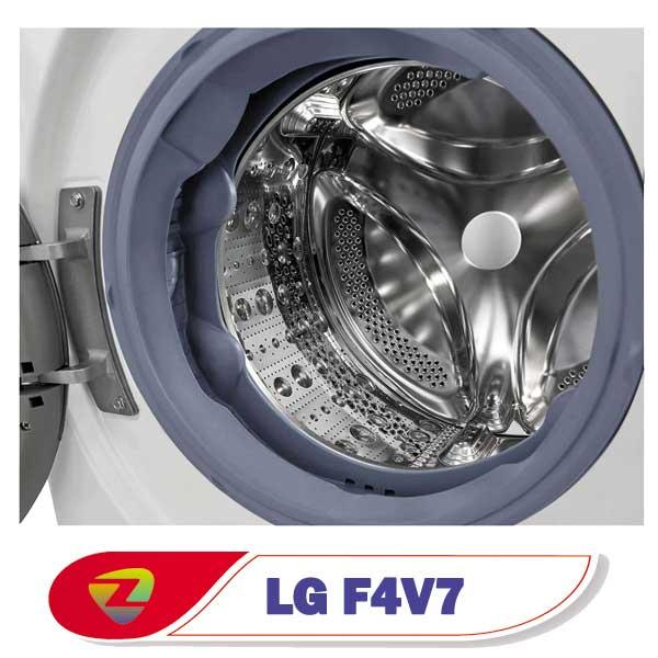 ماشین لباسشویی ال جی 4V7 توربو ظرفیت 10.5 کیلو F4V710WTS