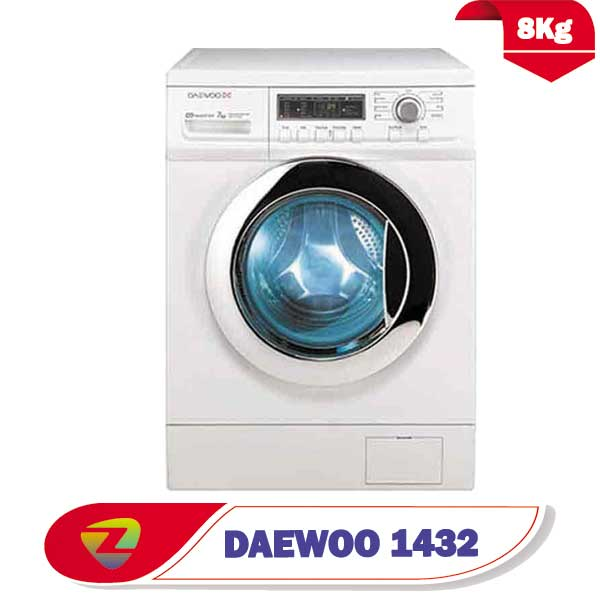 ماشین لباسشویی دوو 1432 ظرفیت 8 کیلو DWDFD1432