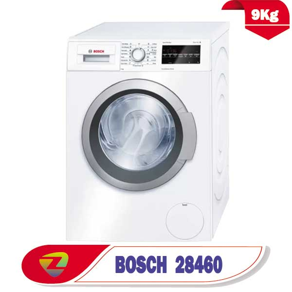ماشین لباسشویی بوش 28460 ظرفیت 9 کیلو WAT28460GC