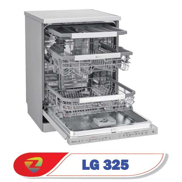 ماشین ظرفشویی ال جی 325 ظرفیت 14 نفره DFB325HS