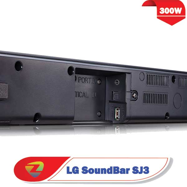 ساندبار ال جی SJ3 سیستم صوتی SJ3 توان 300 وات