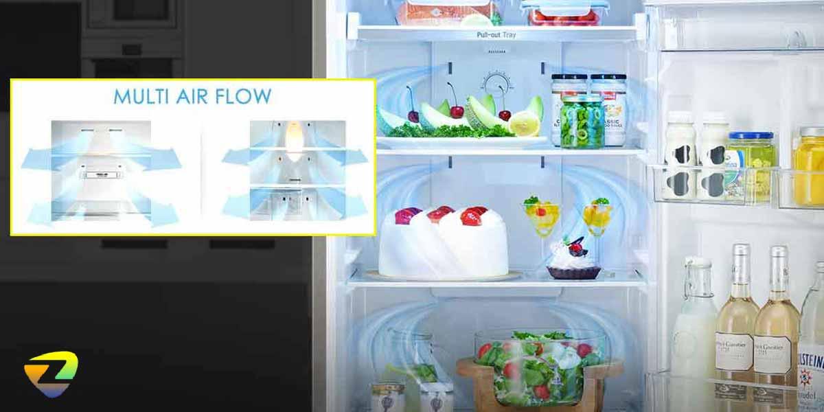 سیستم جریان هوای چند گانه (Multi-Air Flow)