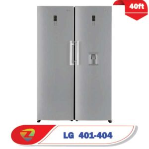 یخچال و فریزر دو قلو ال جی 401-404