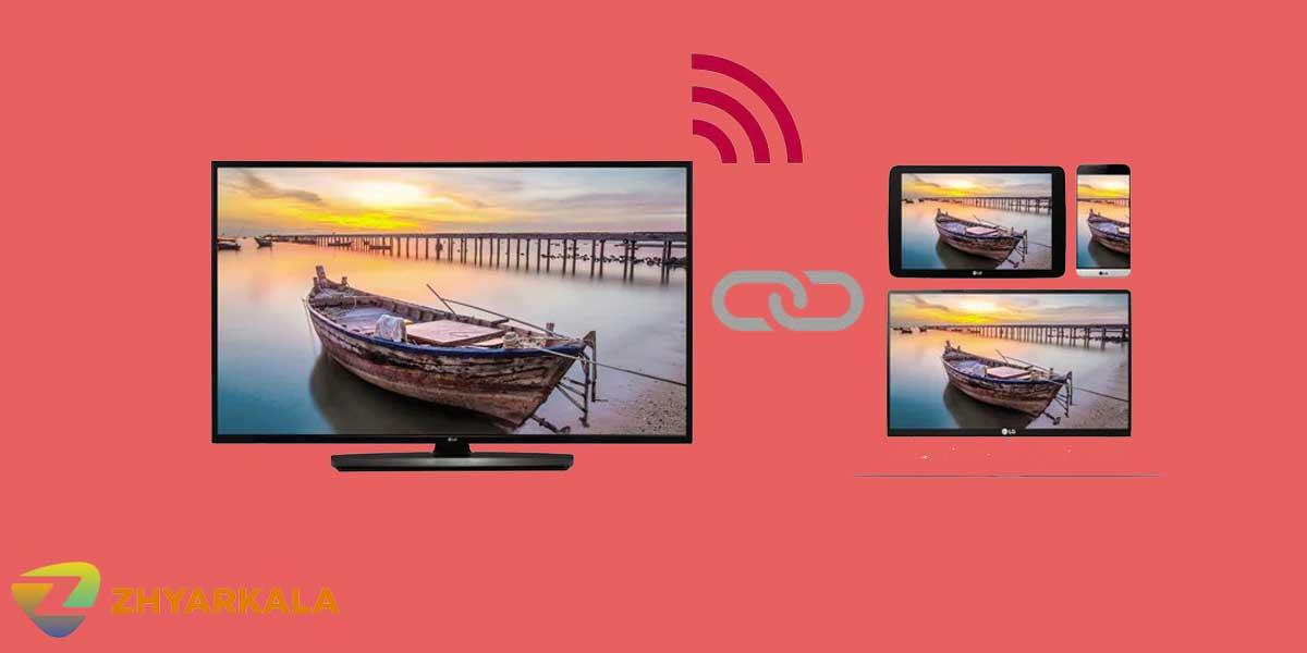 نرم افزارCentric Direct Readyدر تلویزیونLV751ال جی