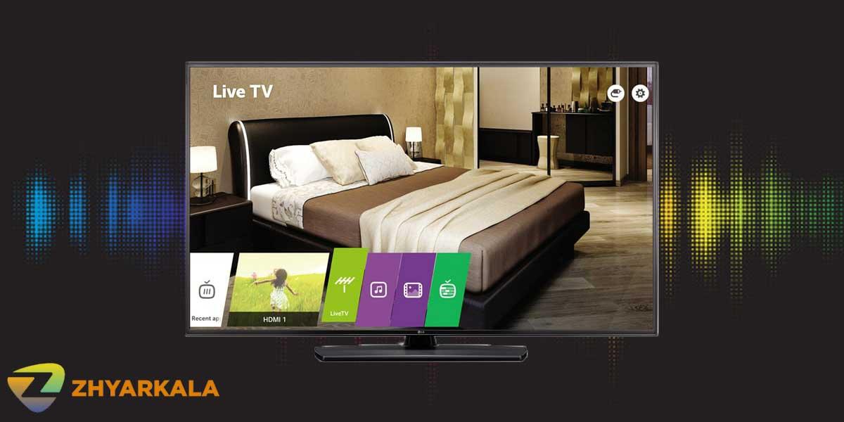 کیفیت صدا در تلویزیون 43LV751