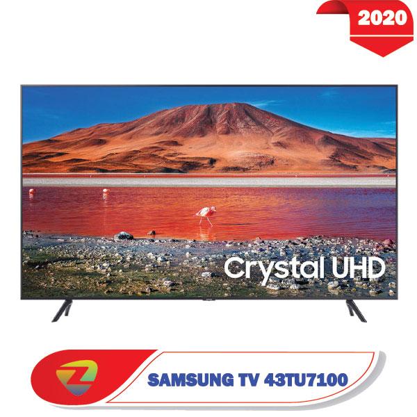 تلویزیون سامسونگ 43TU7100 مدل فورکی سایز 43 اینچ TU7100