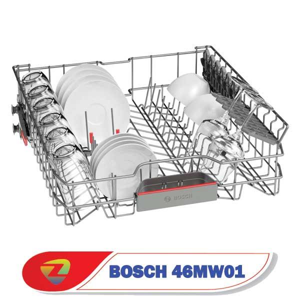 ماشین ظرفشویی بوش 46MW01 سری 4 ظرفیت 13 نفره SMS46MW01D