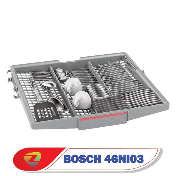 ماشین ظرفشویی بوش 46NI03 سری 4 ظرفیت 14 نفره SMS46NI03E