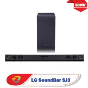 سیستم صوتی ساندبار ال جی SJ3