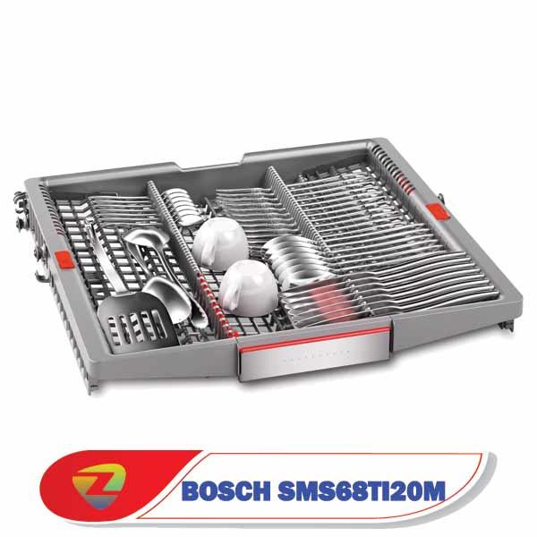 ماشین ظرفشویی بوش 68TI20 سری 6 ظرفیت 13 نفرهSMS68TI20M