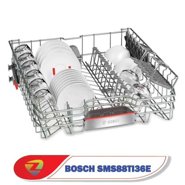 ماشین ظرفشویی بوش 88TI36E سری 8 ظرفیت 13 نفره SMS88TI36E