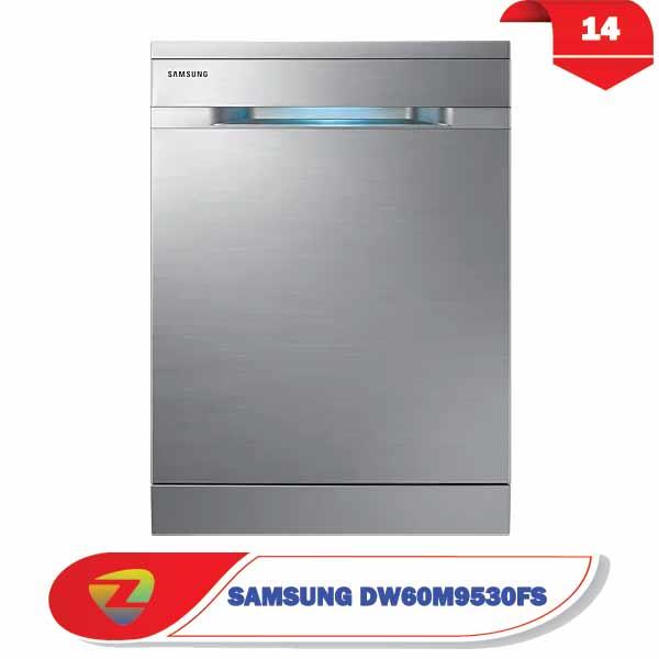 ماشین ظرفشویی سامسونگ 9530 ظرفیت 14 نفره DW60M9530FS