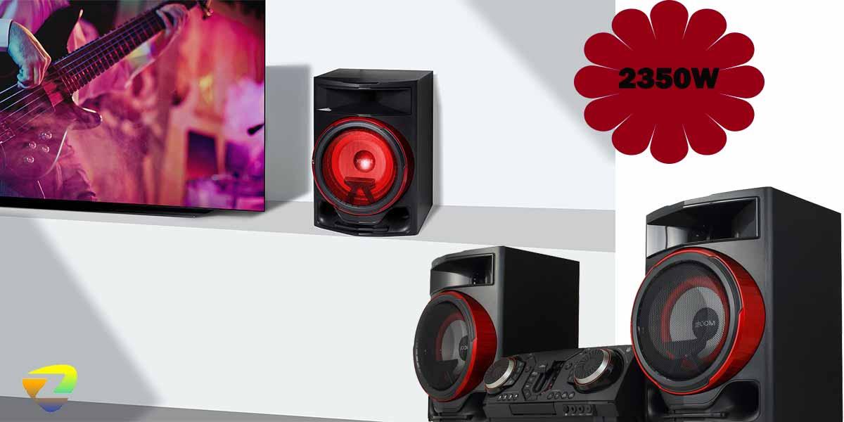 قدرت صوت سیستم صوتی cl87
