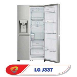قفسههای یخچال ساید بنتلی ال جی J337